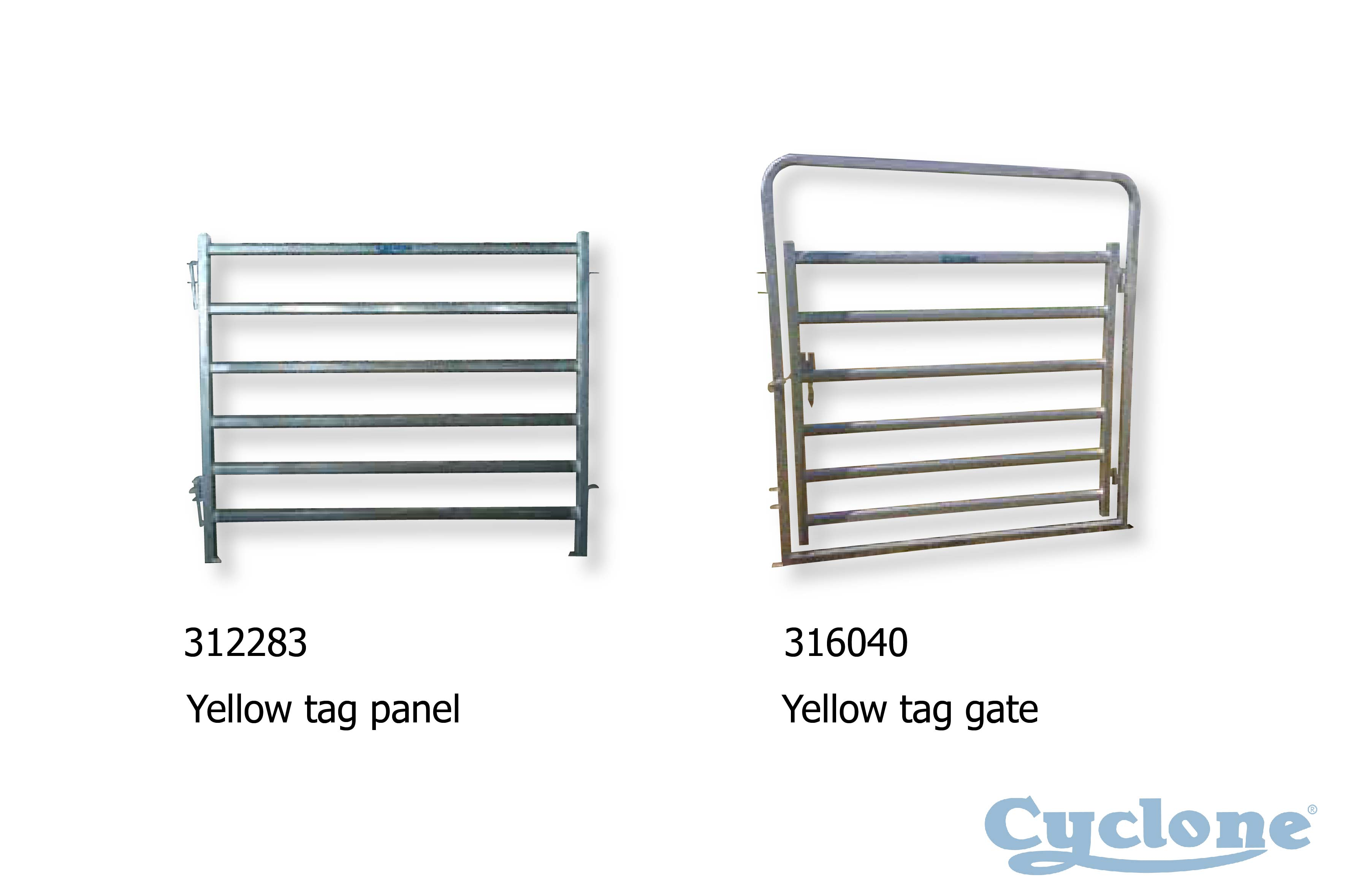 Cyclone Cattle Yard | cattle yard gate and panel
