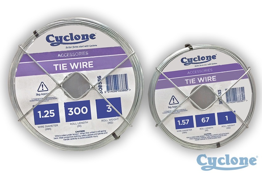 Cyclone Tie wire