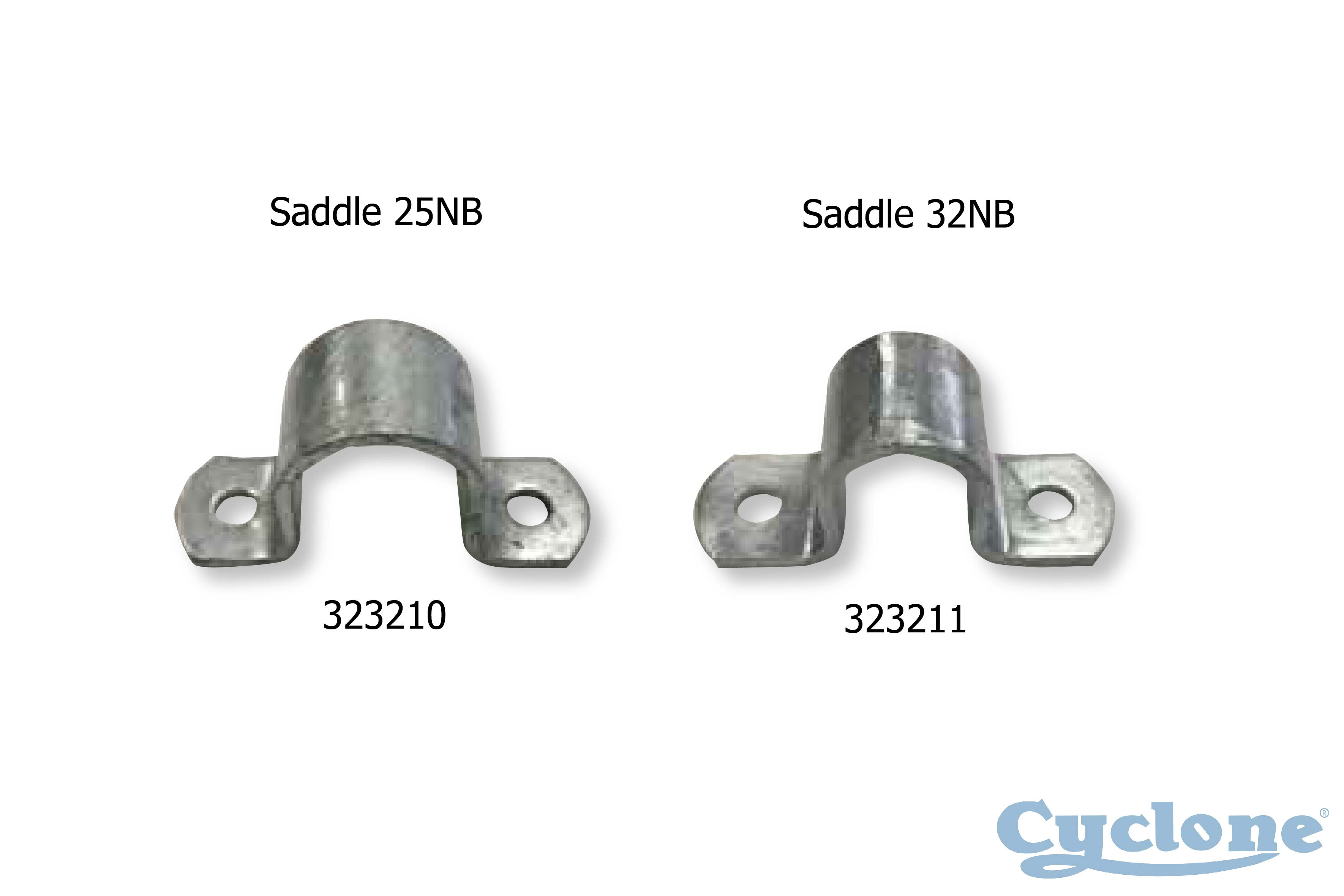 Cyclone gate fittings
