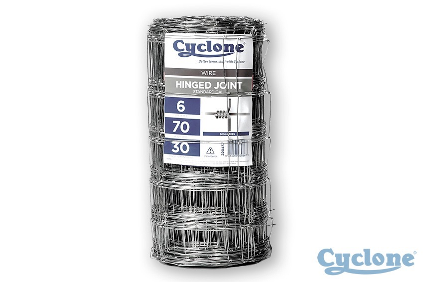 Cyclone hinged-joint wire