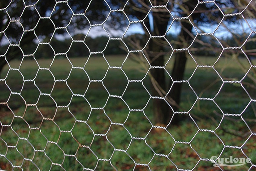 Cyclone netting heavy galvanised
