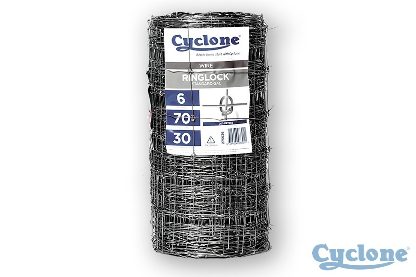 Cyclone ringlock wire standard galvanised
